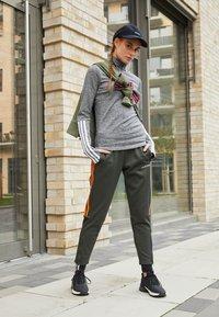 adidas Performance - Funkční triko - mottled grey - 3