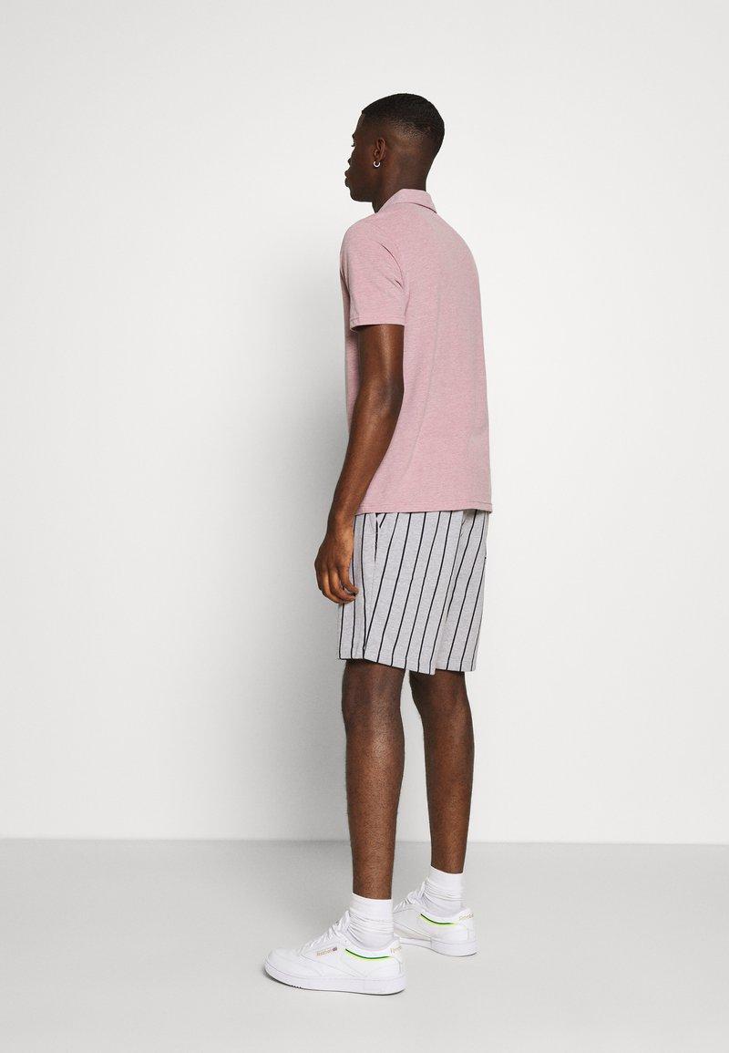Burton Menswear London PINSTRIPE   Shorts   navy/dunkelblau ...