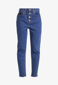 Levi's® - EXPOSED BUTTON MOM JEAN - Relaxed fit jeans - pacific dream - 4