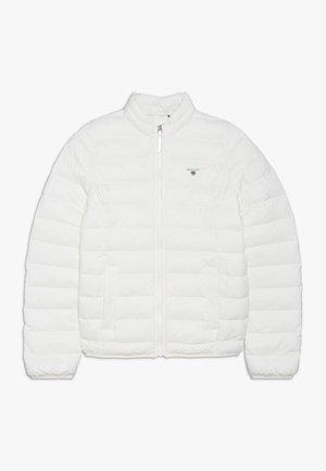 THE LIGHT WEIGHT PUFFER JACKET - Winter jacket - eggshell