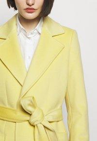 MAX&Co. - RUNAWAY - Classic coat - pale yellow - 5