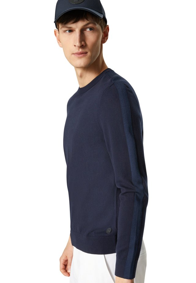 Sweater - navy-blau
