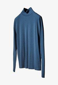 Massimo Dutti - Bluzka z długim rękawem - blue - 2