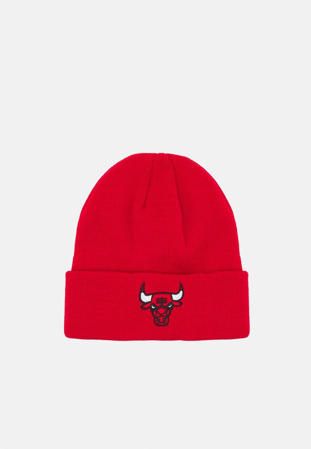 NBA CHICAGO BULLS CUFFED UNISEX - Klubbklær - red
