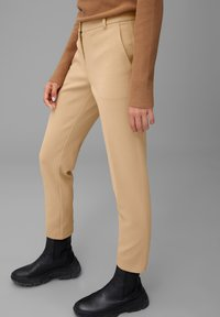 Marc O'Polo - Trousers - soaked sand - 4