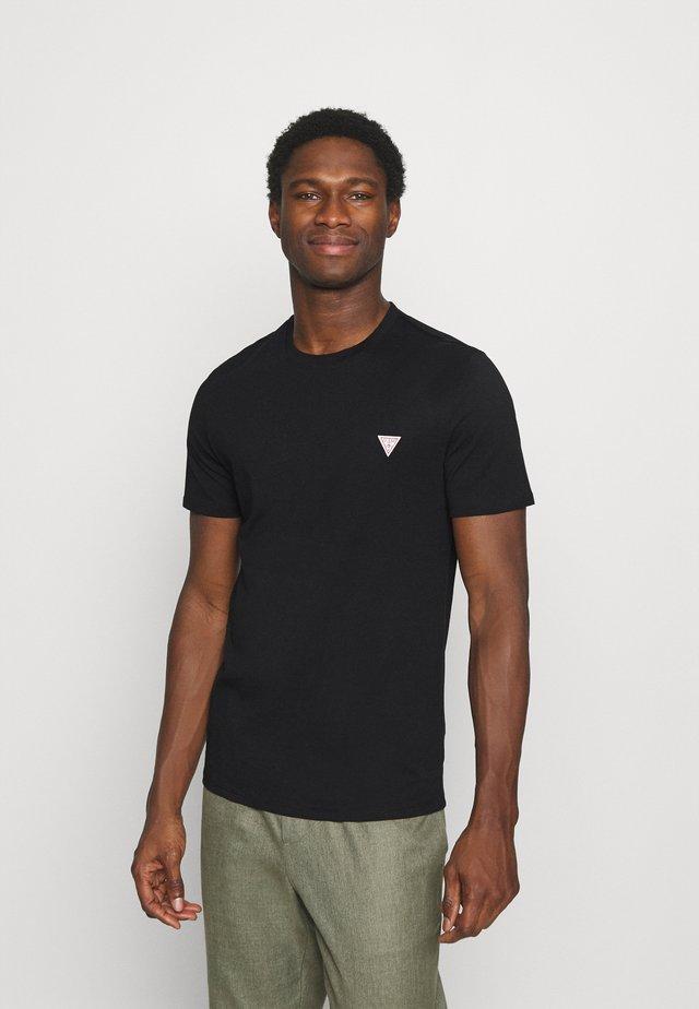 TEE - T-shirt basic - jet black