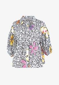 Grace - LEO & FLOWERS - Button-down blouse - white - 1