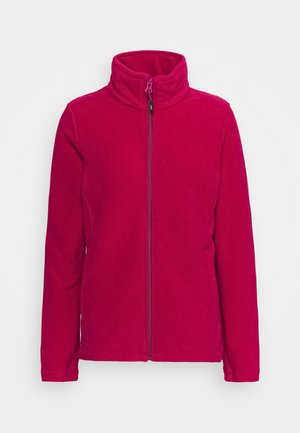 WOMAN JACKET - Fleece jacket - magenta