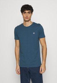 Marc O'Polo - SHORT SLEEVE - Basic T-shirt - deep dive - 0