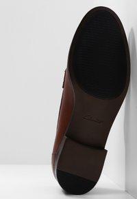 Clarks - HAMBLE  - Slip-ons - light brown - 5