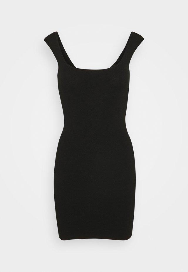 KIRA DRESS - Vapaa-ajan mekko - black