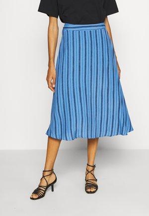 CIRCLE SKIRT - A-line skirt - blue