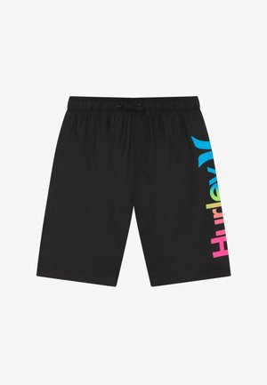 ONE AND ONLY GRADIENT - Swimming shorts - black
