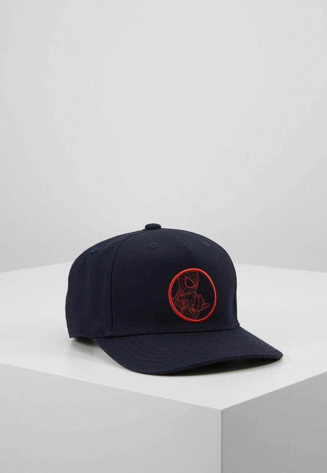 SPIDERMAN - Czapka z daszkiem - dark blue/red