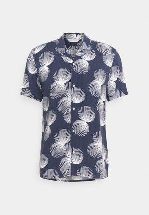 ANTON PRINTED - Chemise - navy blazer