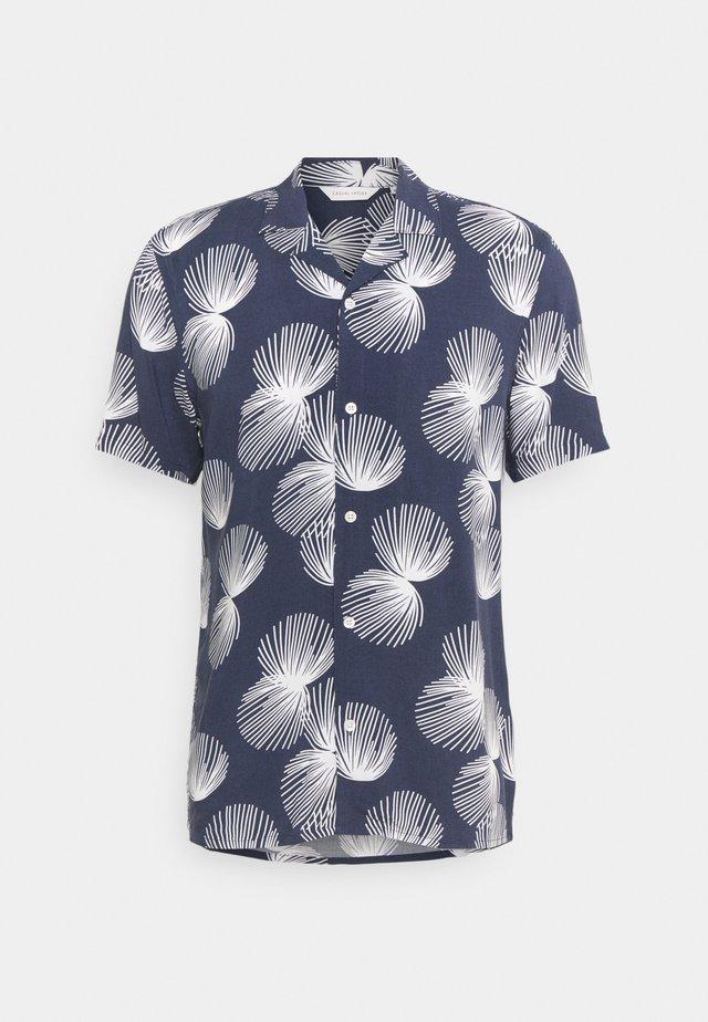 ANTON PRINTED - Shirt - navy blazer