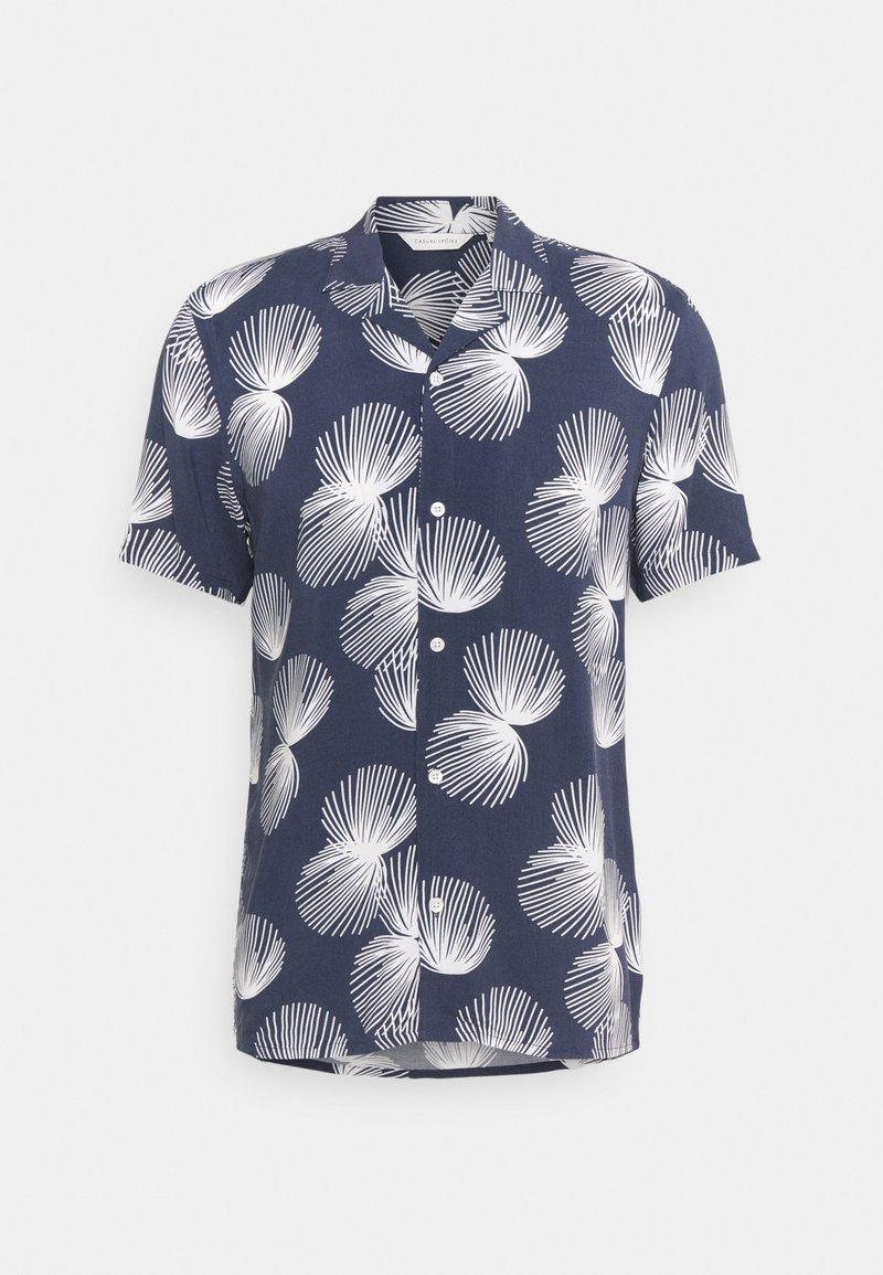 Casual Friday - ANTON PRINTED - Shirt - navy blazer