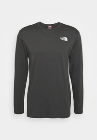 The North Face - MENS BOX TEE - Langærmede T-shirts - anthracite