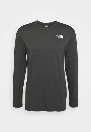 MENS BOX TEE - Long sleeved top - anthracite