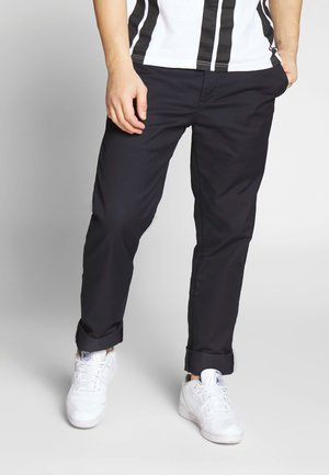 JOHNSON PANT LAMAR - Chino - dark navy rinsed