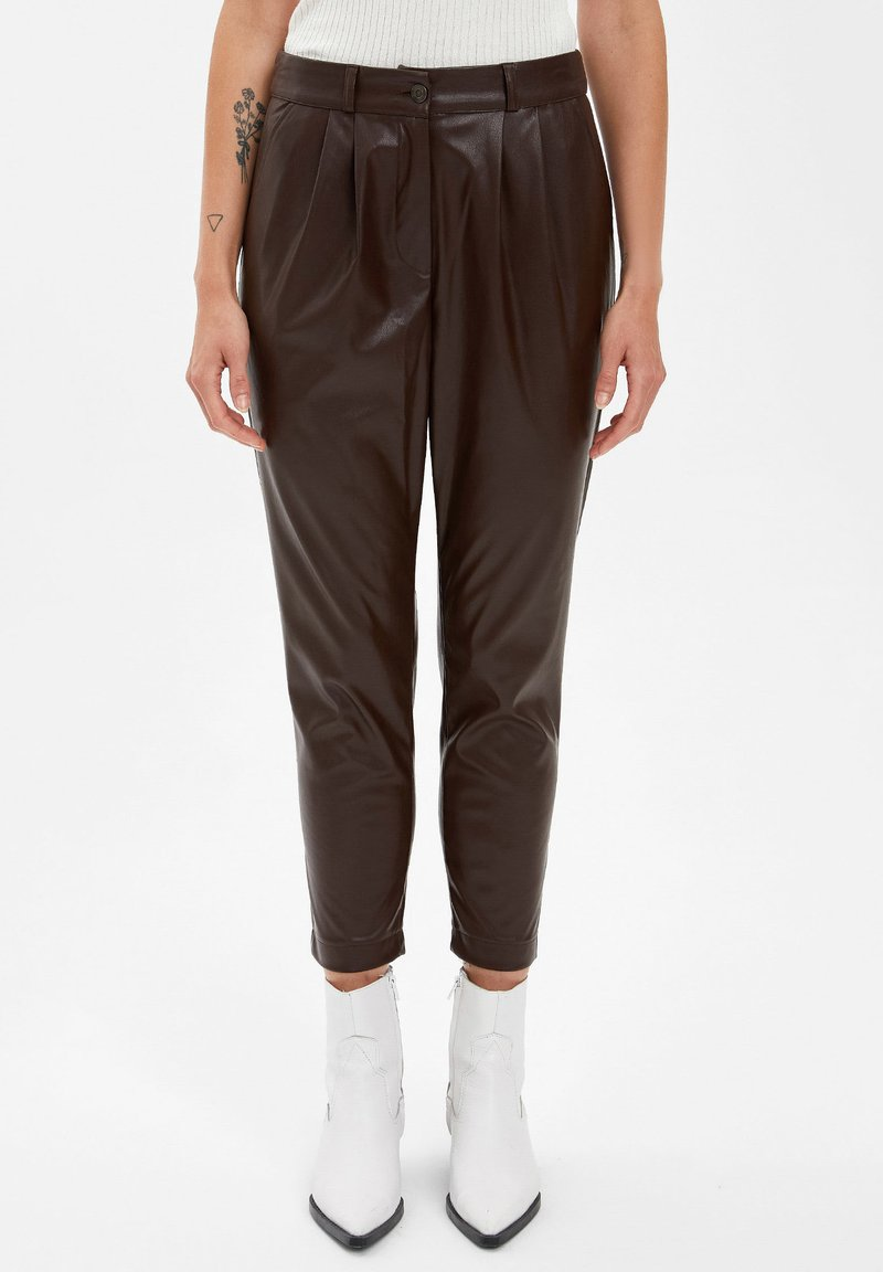 DeFacto - Trousers - brown