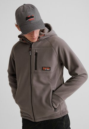 Fleece jacket - exposure grey