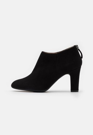 UCHI - High heeled ankle boots - black
