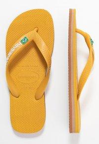 Havaianas - BRASIL LAYERS - Pool shoes - burned yellow - 1