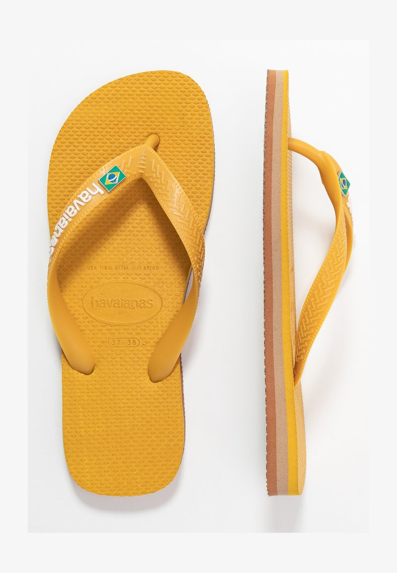 Havaianas - BRASIL LAYERS - Pool shoes - burned yellow