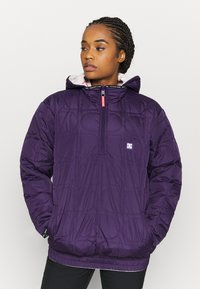 DC Shoes - TRANSITION REVERSIBLE ANORAK - Snowboard jacket - gray_morn - 3