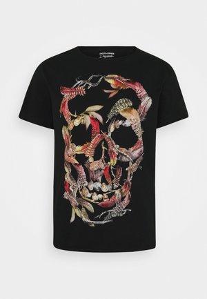 JORCLAUS TEE CREW NECK - T-shirt imprimé - tap shoe