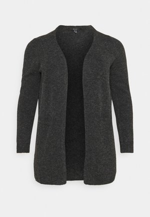 VMDOFFY OPEN - Cardigan - black melange