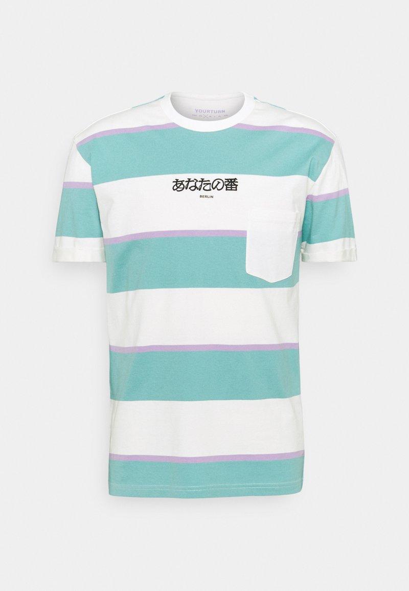 YOURTURN - UNISEX - Print T-shirt - green