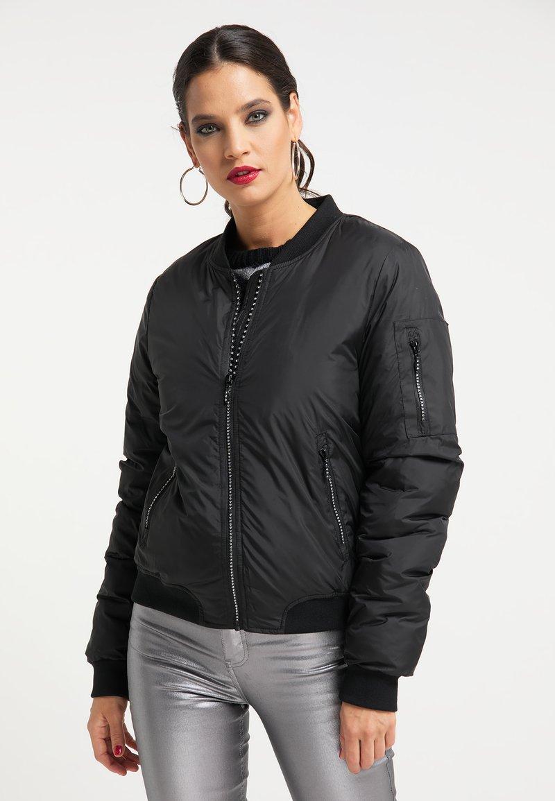 faina - Bomber Jacket - schwarz