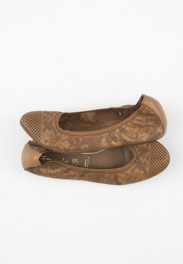 Ballerina's - brown