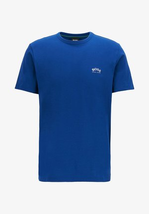 """TEE CURVED"" - Basic T-shirt - blue"
