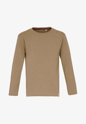 BASIC - Langærmede T-shirts - caramel