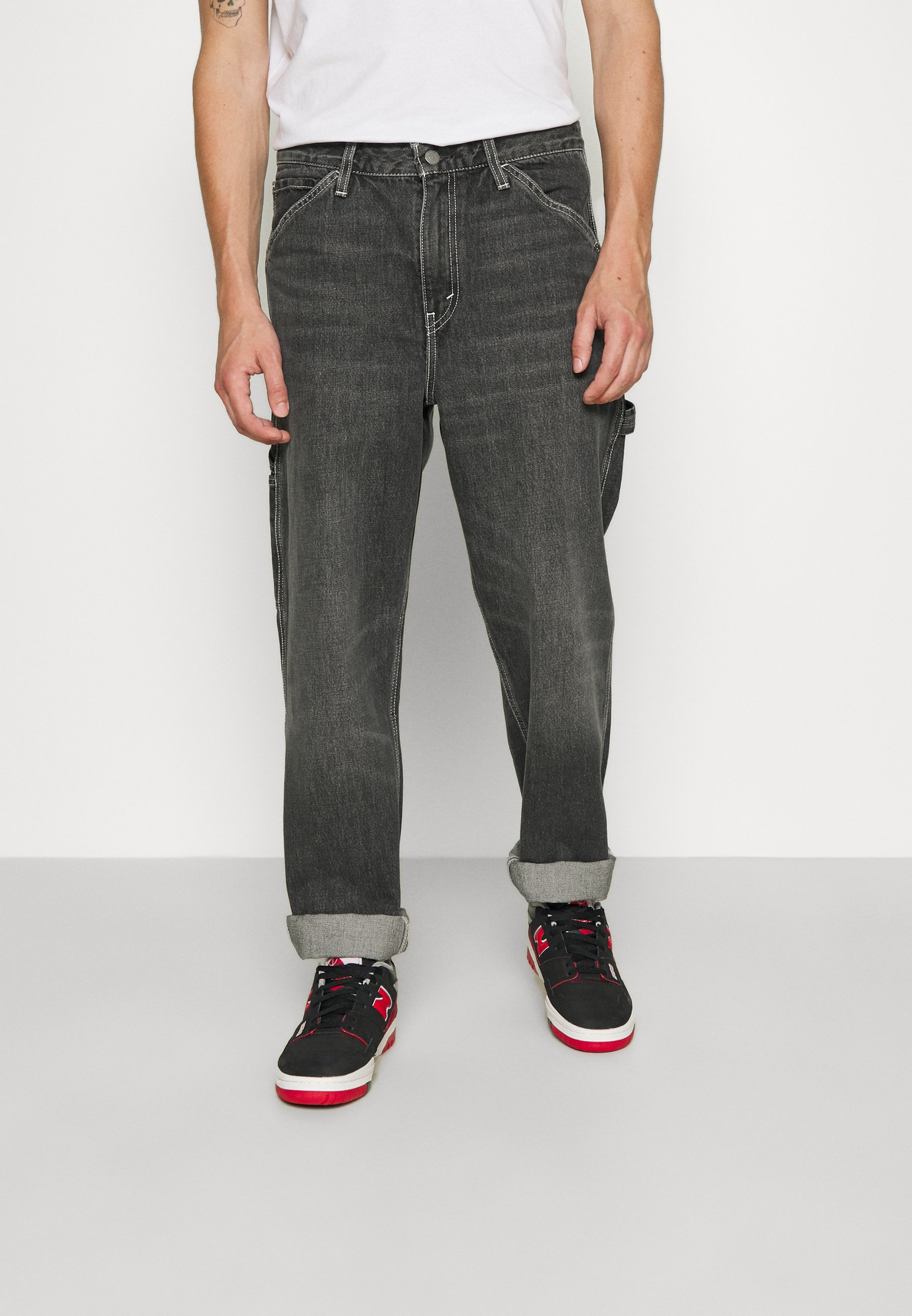 Uomo TAPERED CARPENTER - Jeans baggy