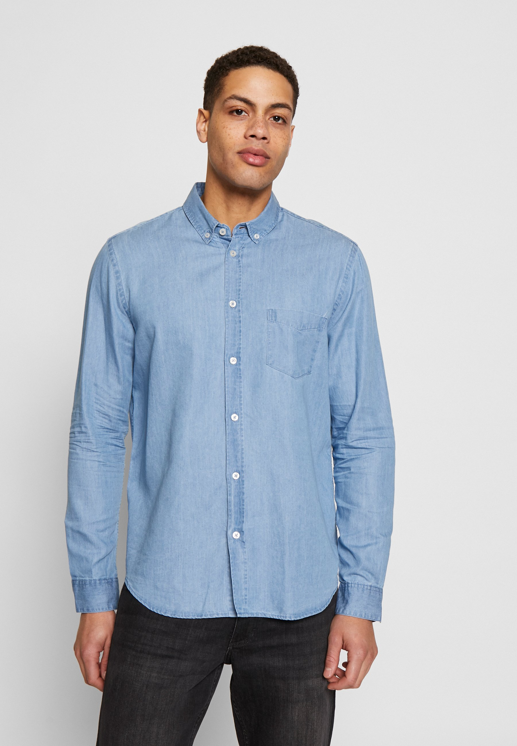 Samsøe Samsøe LIAM SHIRT Skjorte light blue Zalando.no