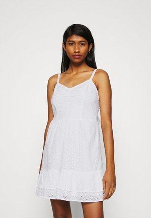 BARE SHORT DRESS SHIFFLEY  - Day dress - white eyelet