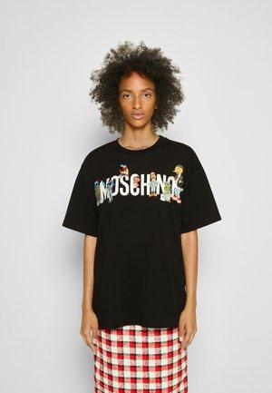SESAME STREET - Print T-shirt - black