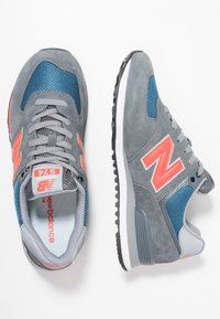 New Balance - ML574 - Matalavartiset tennarit - grey/blue - 1