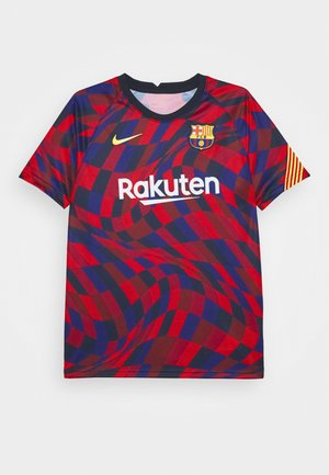 FC BARCELONA DRY - Club wear - university red/university red/amarillo
