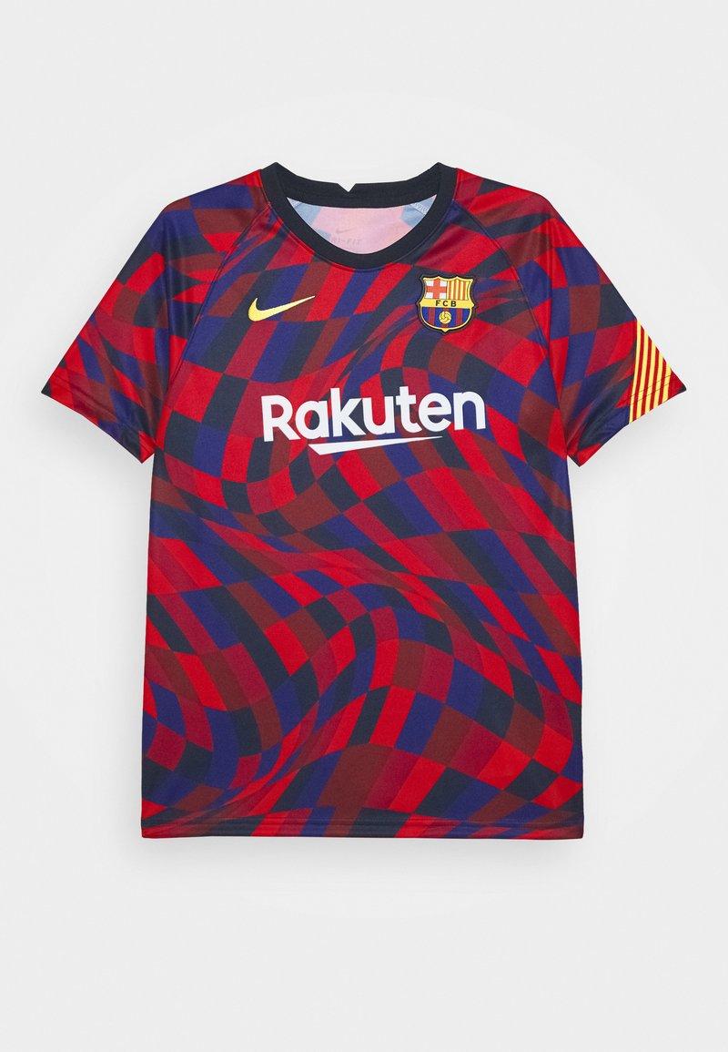 Nike Performance - FC BARCELONA DRY - Artykuły klubowe - university red/university red/amarillo