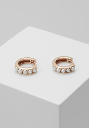 HUGGIE HOOP - Pendientes - rose gold-coloured