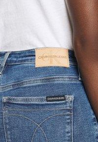 Calvin Klein Jeans - HIGH RISE SKINNY - Skinny džíny - blue - 3