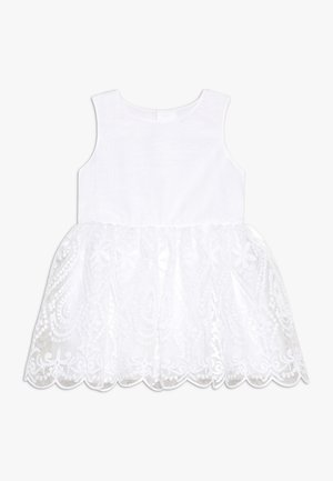 NMFSANDIE SPENCER - Vestido de cóctel - bright white