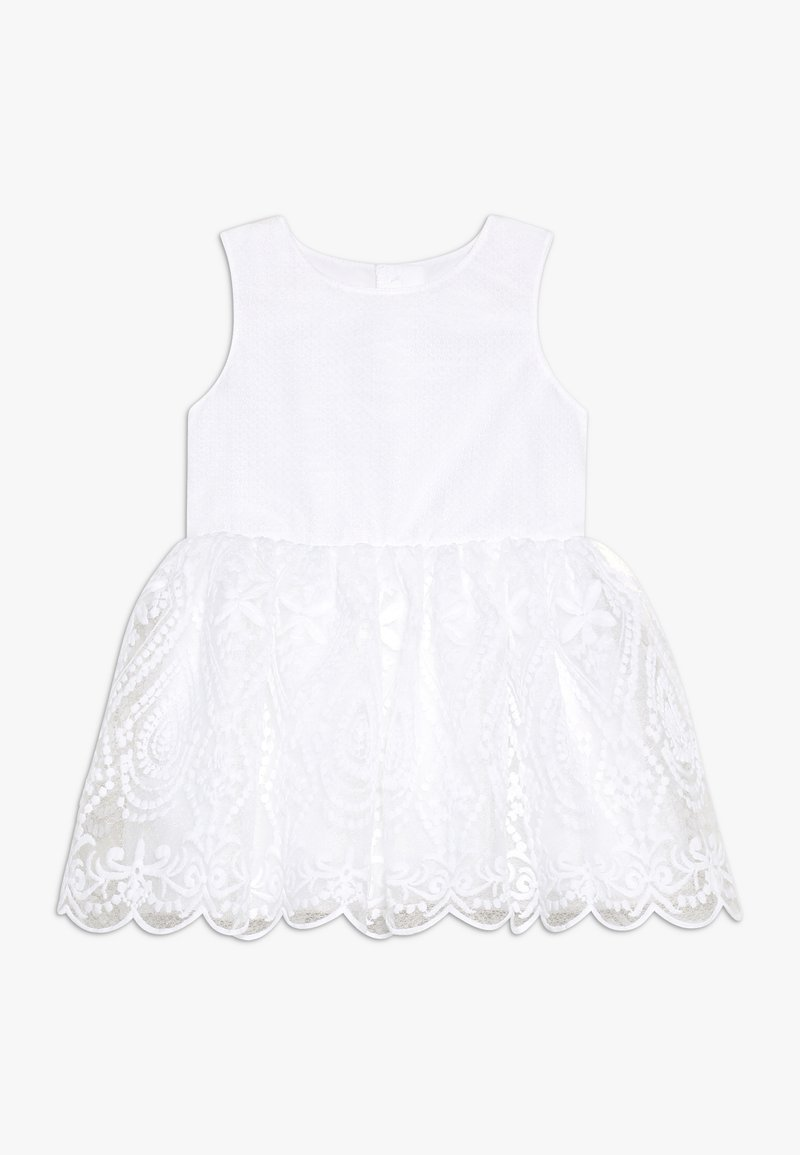 Name it - NMFSANDIE SPENCER - Koktejlové šaty/ šaty na párty - bright white