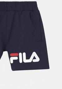 Fila - ZOE BASIC UNISEX - Teplákové kalhoty - black iris - 2