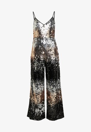 STRAPPY SEQUIN - Jumpsuit - bronze